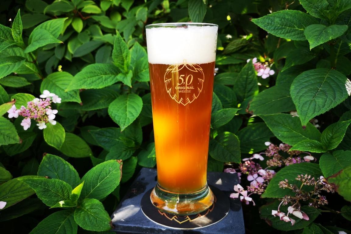 De Koning onder de Weisse bieren